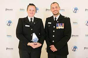 Thames Valley Police's PC Quigley and, Sergeant Mark Allmond
