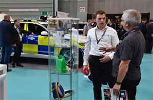 Mind charity at Emergency Services Show