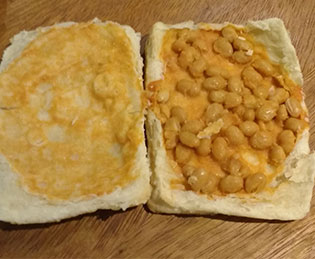 Bean pastie: While working with Food Matters, HMP Wandsworth has reduced the amount of processed food and introduced more vegetable and fish dishes cooked from scratch