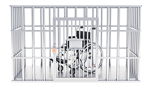 Wheelchair behind bars- Prison Reform Trust