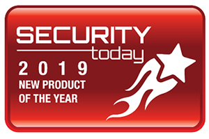 New Product of the Year Award from Security Today
