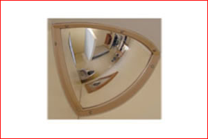 Clarke safety mirror - Mirrors for Custody