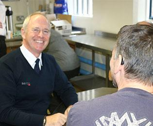 Picture: Paul Gaskin at HMP Doncaster, one of the prisons run by Serco on behalf of the Ministry of Justice